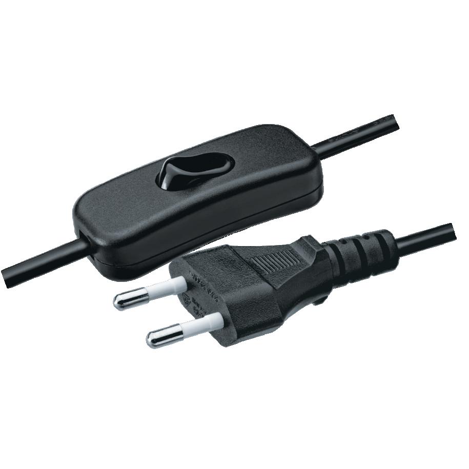 Шнуры сетевые с выключателем серии NPS-FS